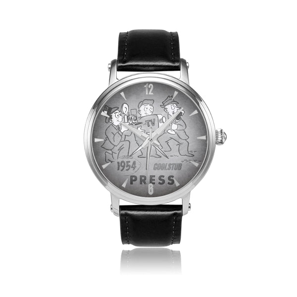 '54 Press Watch (Black and White)