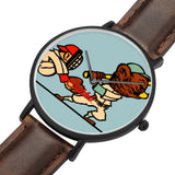 Coolstub™ Women's Retro Bear Baseball Art Watch