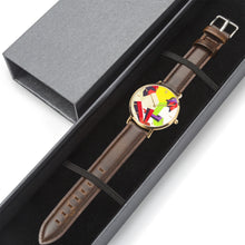 Load image into Gallery viewer, Stealing Second Vintage Baseball Art Watch by Coolstub™