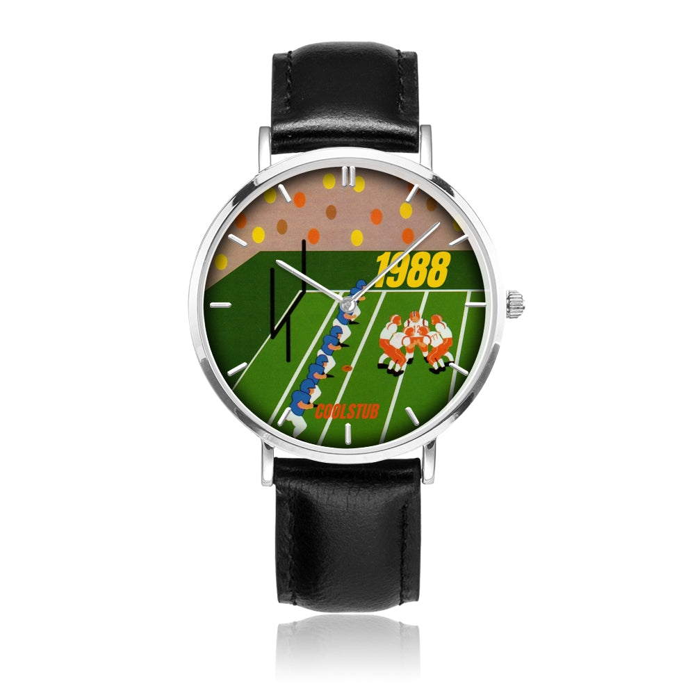 1988 Retro Football Game Art Watch