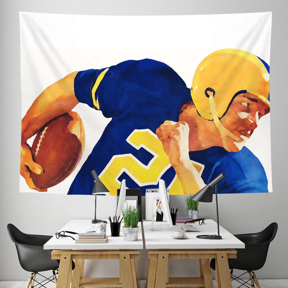 Coolstub™ 1958 Football Running Back Tapestry