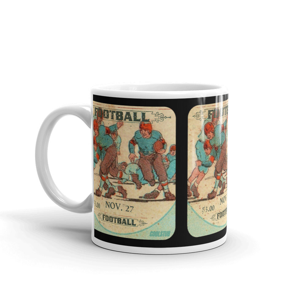'28 Football Ticket Stub Mug