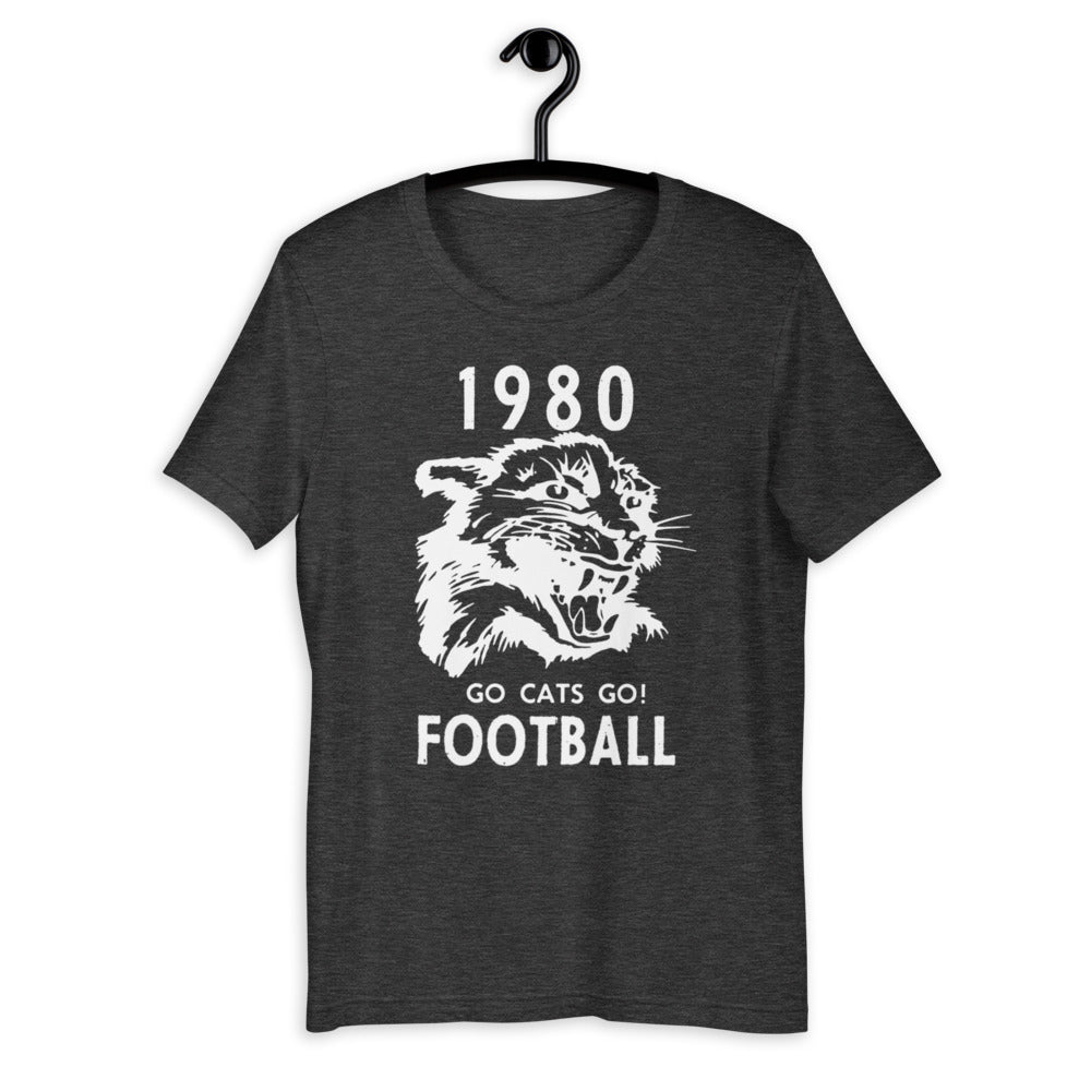 Go Cats Go Retro T-Shirt (1980)