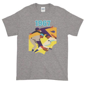 1967 Retro Baseball Short-Sleeve T-Shirt by Coolstub™
