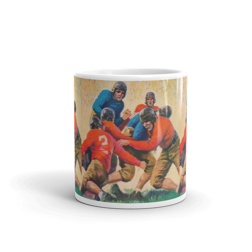 1937 Football Mug by Row One