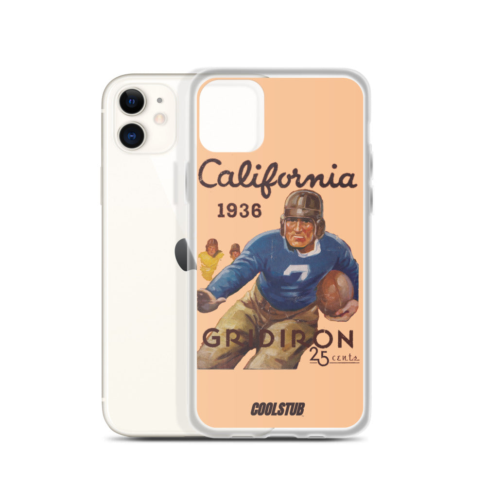California Gridiron iPhone Case (1936)