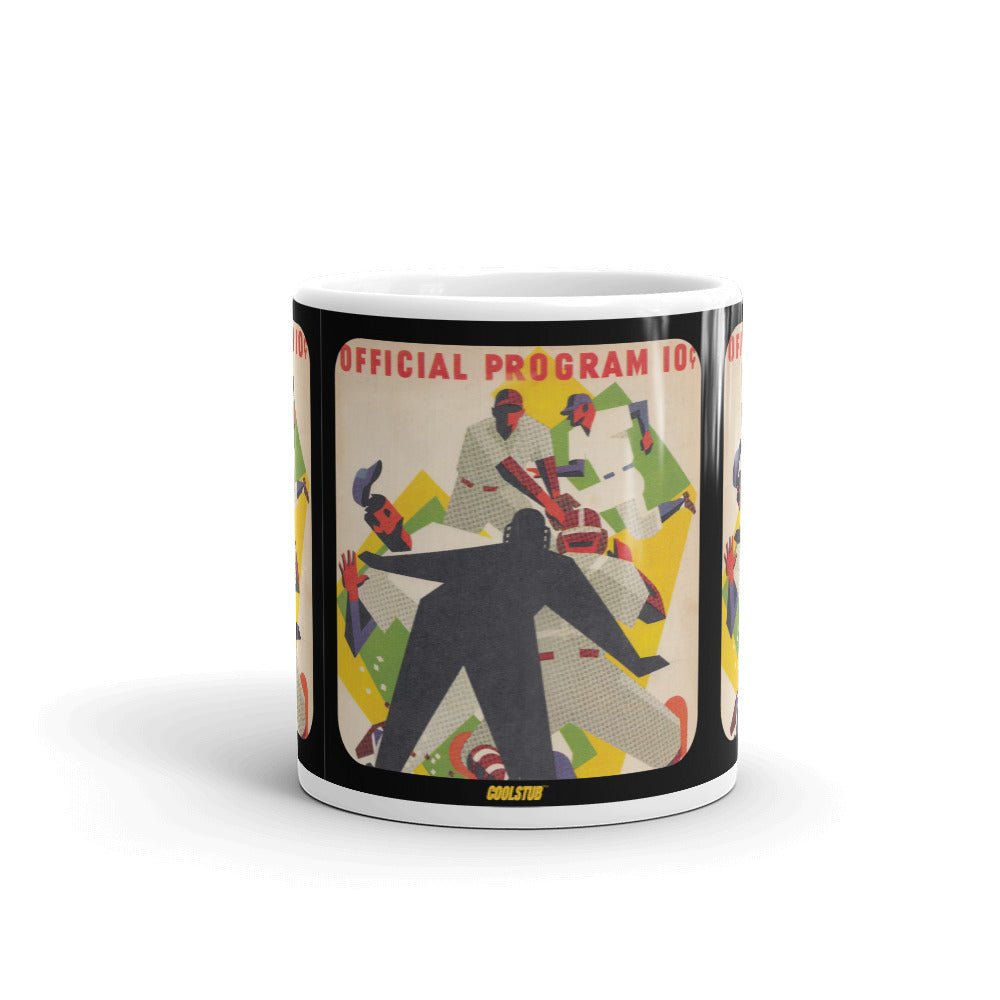 1953 Baseball Scorecard Art Mug