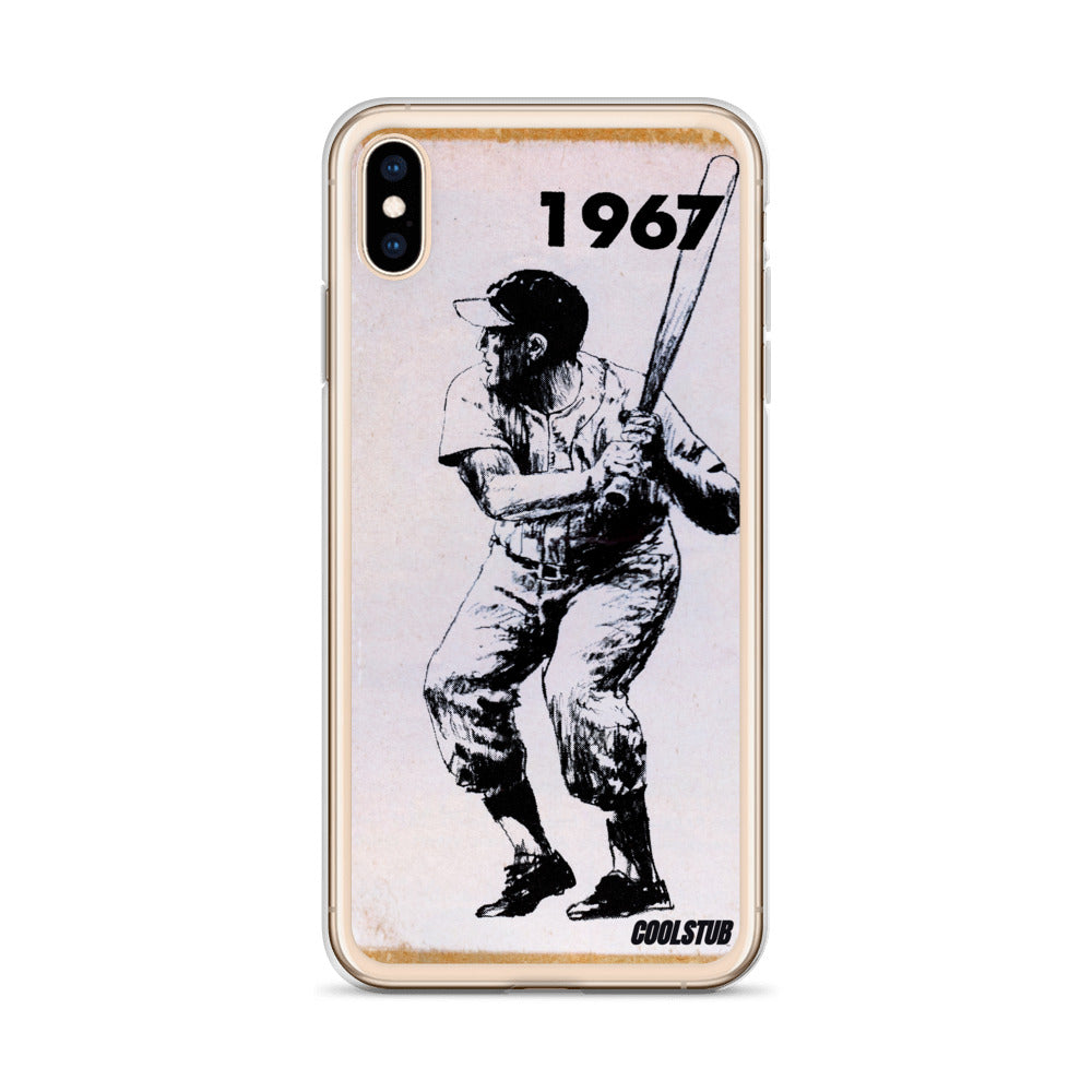 1967 Left-Handed Hitter iPhone Case