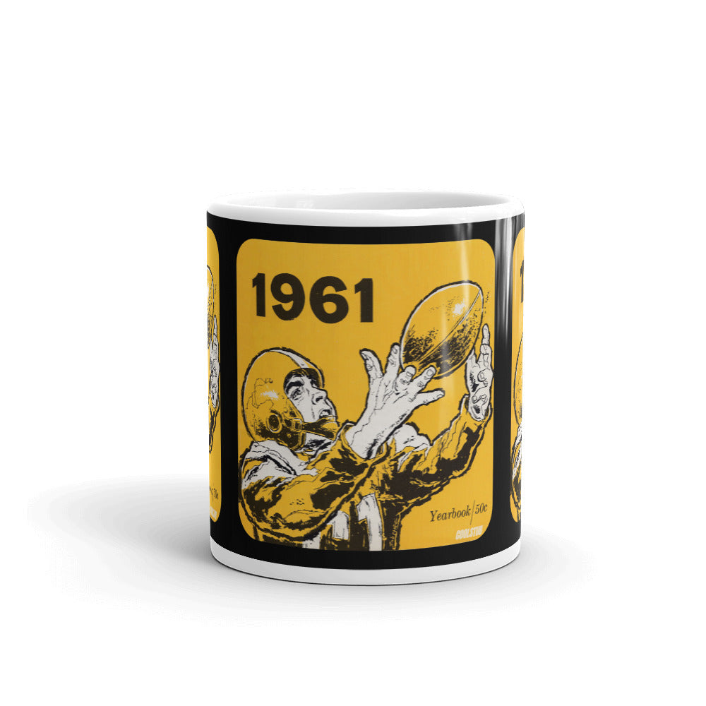 1961 Football Coffee Mug
