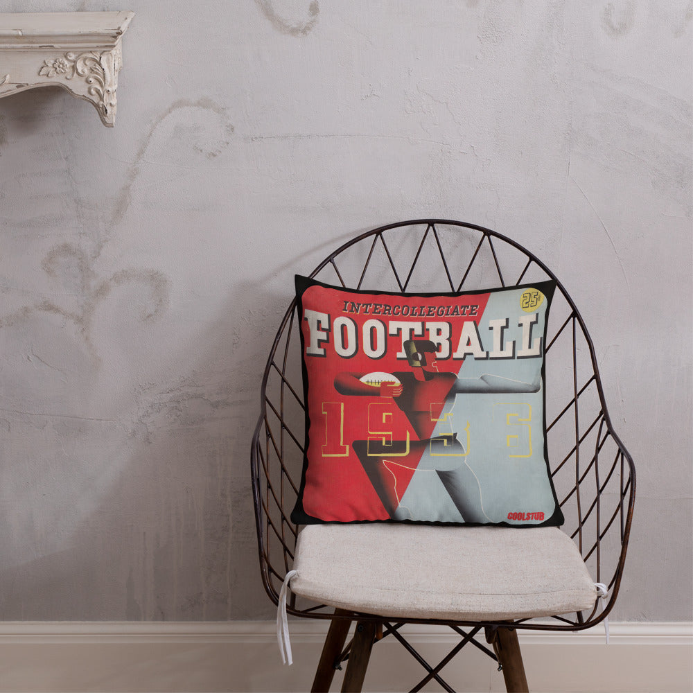 '36 Football Premium Pillow