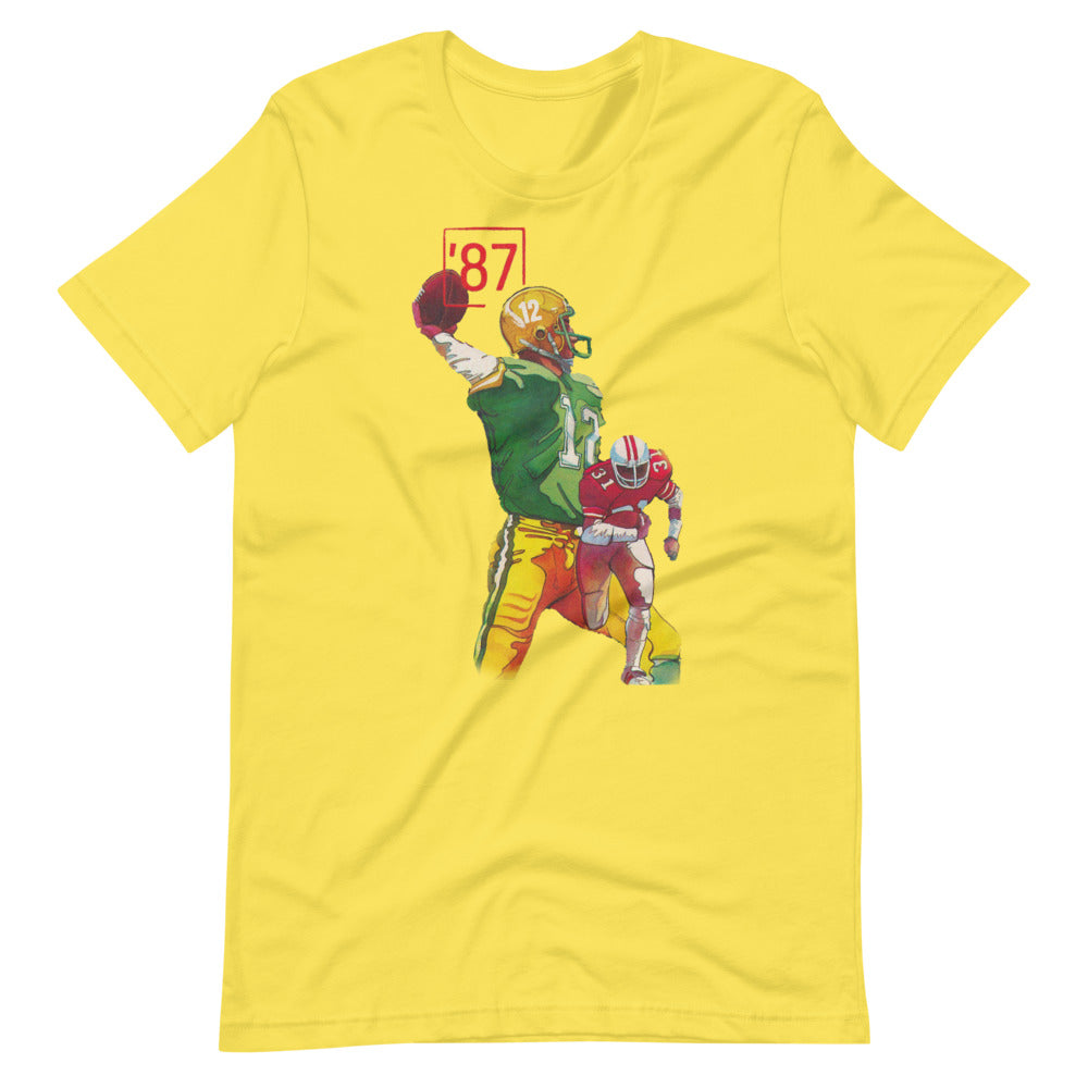 2020 Father's Day Gift Ideas for Football Fans: 1987 Football Tee by Row One