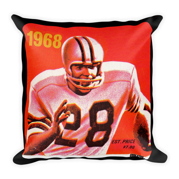 sports home decor accents, ticket stub pillow