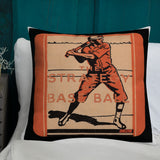 The Strategy of Base Ball Premium Pillow (1924)