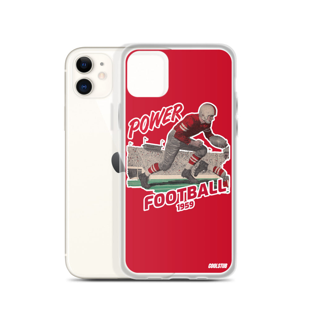 Power Football iPhone Case (1959)