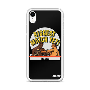 1936 Biggest Match Yet iPhone Case