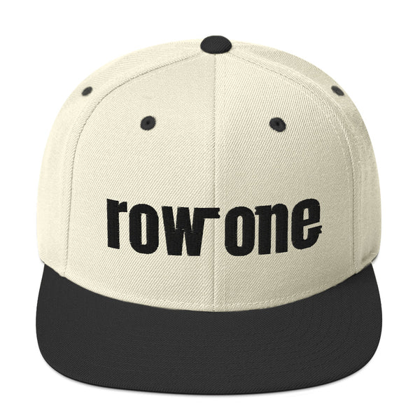Row One Snapback Hat