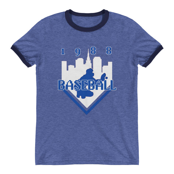 Coolstub™ 1988 Retro Baseball Ringer T-Shirt