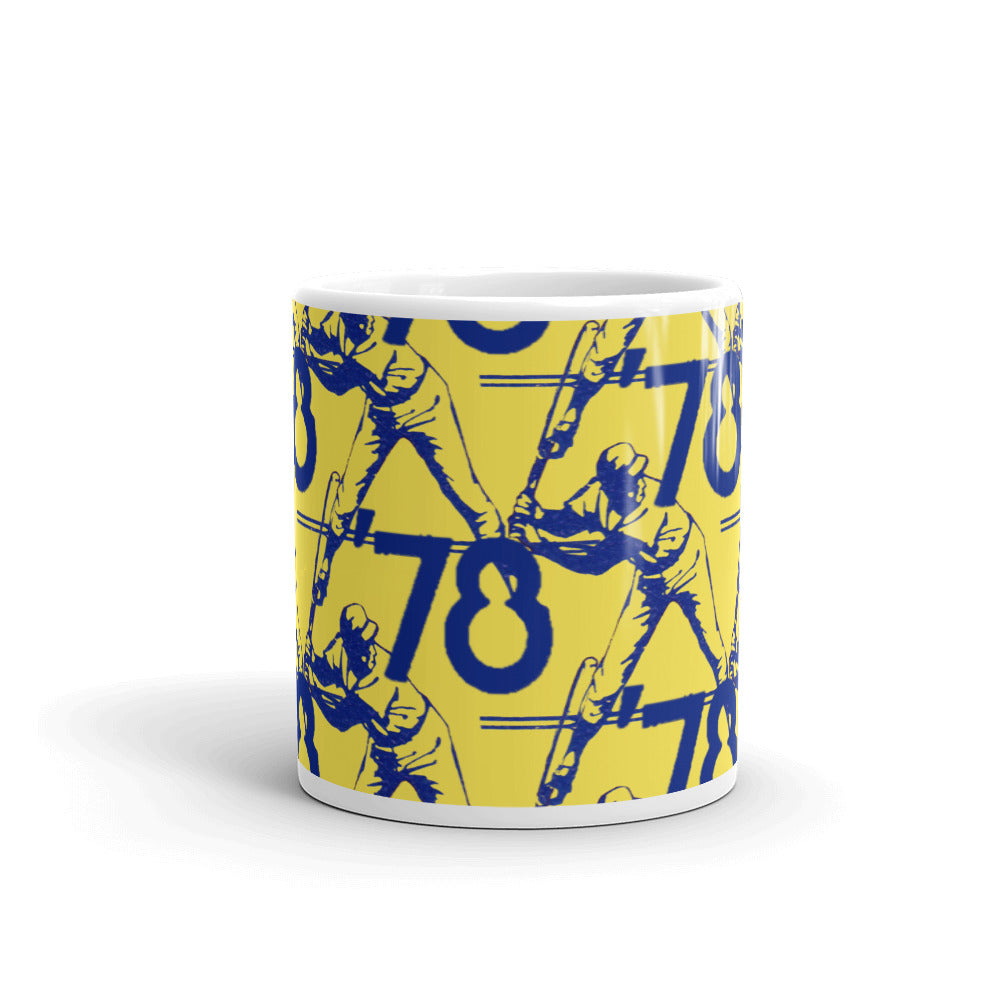 '78 Baseball Batter Pattern Mug