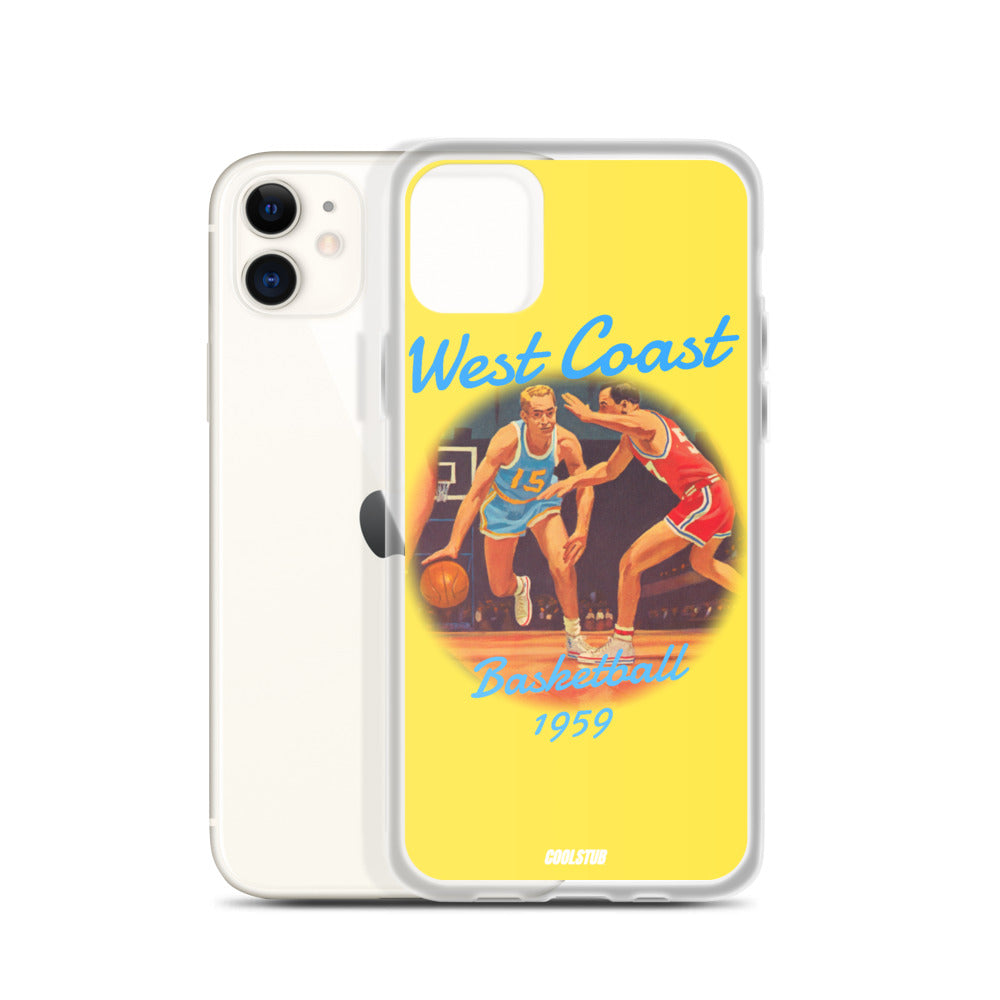 West Coast Basketball iPhone Case (1959)