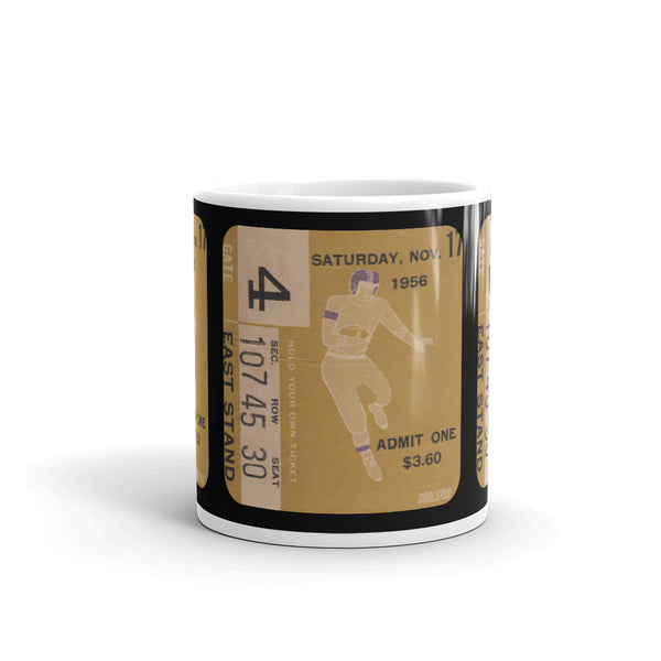 1956 Football Ticket Stub Mug