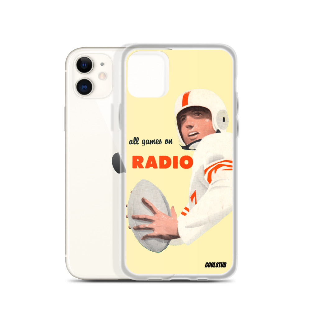 All Games on Radio iPhone Case (1955)