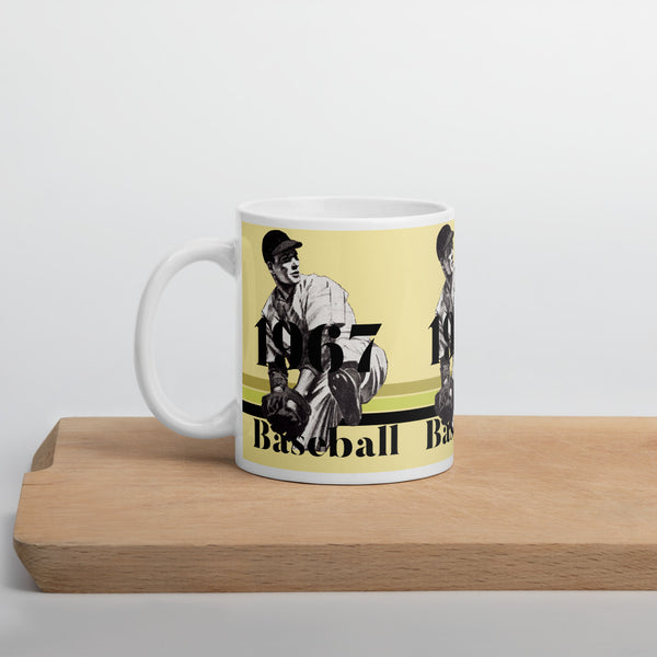 '67 Fastball Pitcher Baseball Mug