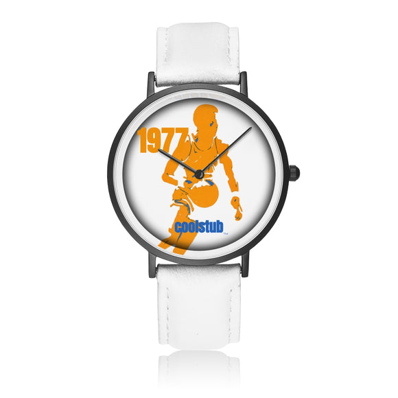 1977 Birth Year Gift Ideas: Coolstub™ 1977 Basketball Player Art Watch