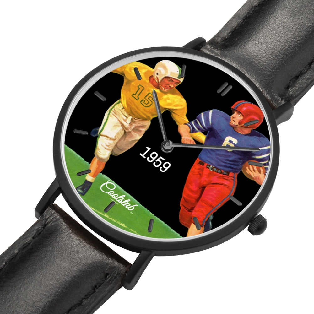 Coolstub™ 1959 Football Night Game Watch