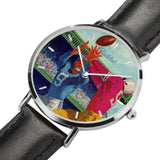 1960 Football Program Art Luxury Sports Watch by Coolstub™