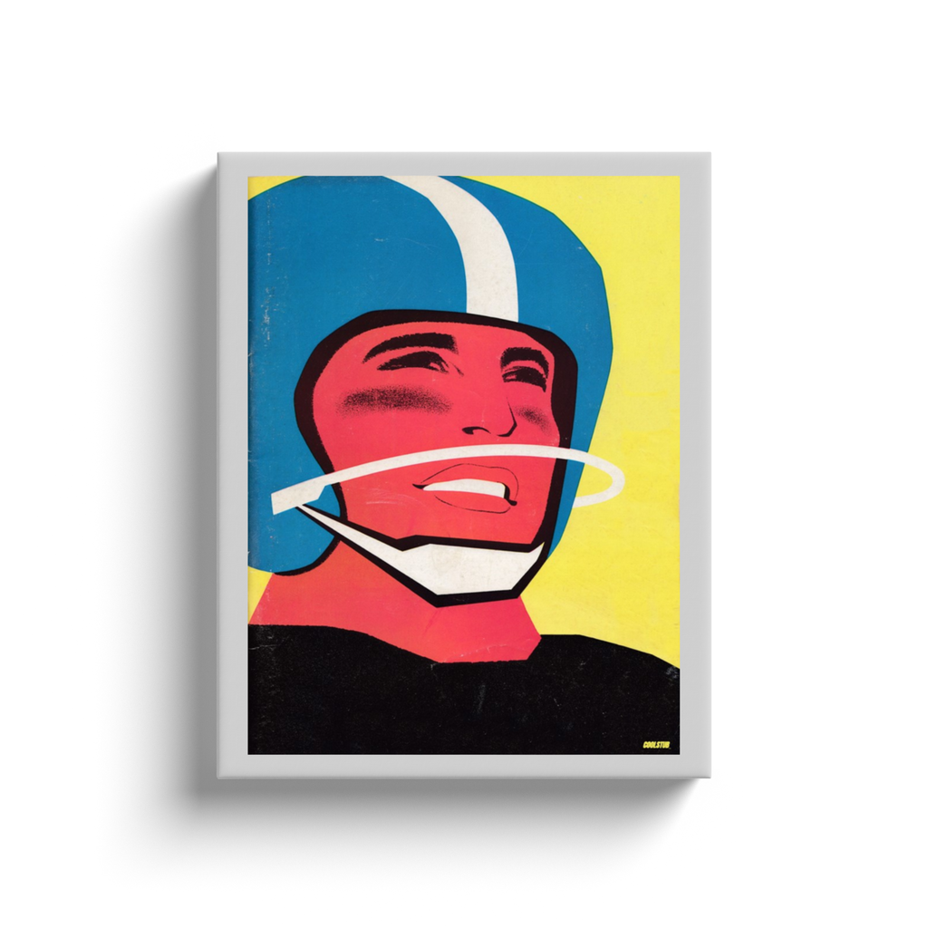 Face of a Champion Canvas Wrap (1959)
