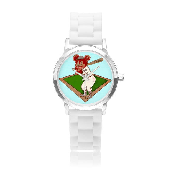 Coolstub™ Vintage Baseball Bear Kids' Watch