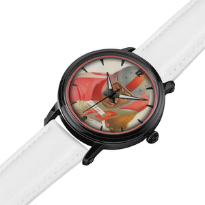 #33 All-American Watch (White Leather)