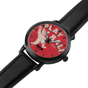 1934 Play Ball Watch (Black Leather)