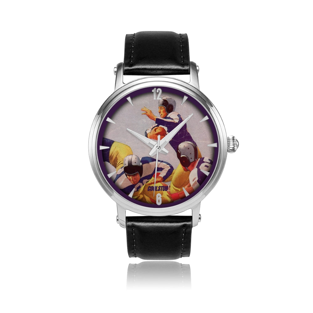 football program cover art watches
