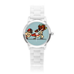 Coolstub™ Retro Cartoon Baseball Art Watch