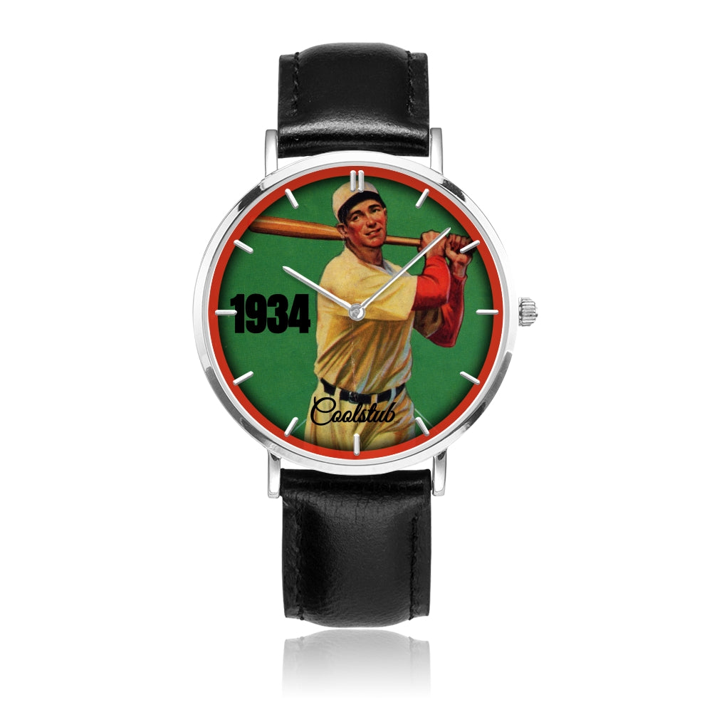 Best Pop Culture Sports Gifts: 1934 Coolstub™ Baseball Watch