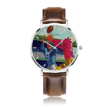 Load image into Gallery viewer, 1960 Football Program Art Luxury Sports Watch by Coolstub™