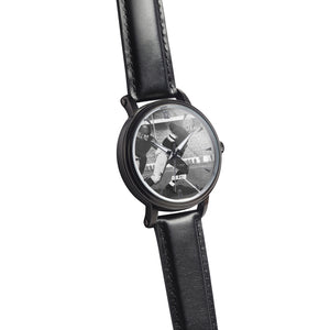 '34 Touchdown Big Face Watch (46 mm) Black and White