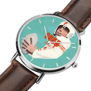 Coolstub™ 1955 Birth Year Gift: 1955 Football Quarterback Art Watch