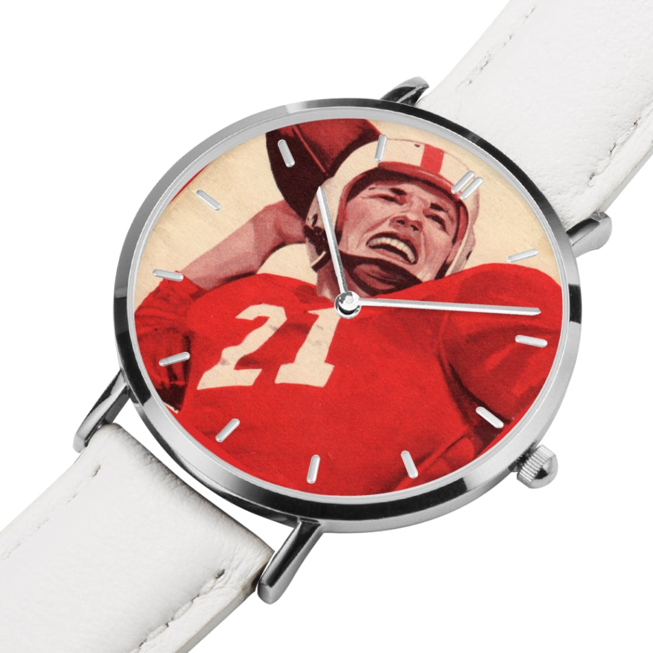 1954 Vintage Quarterback Art Watch