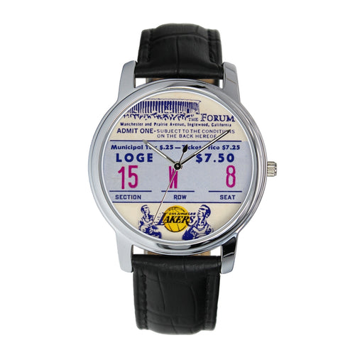 1973 Los Angeles Lakers Vintage Ticket Watch