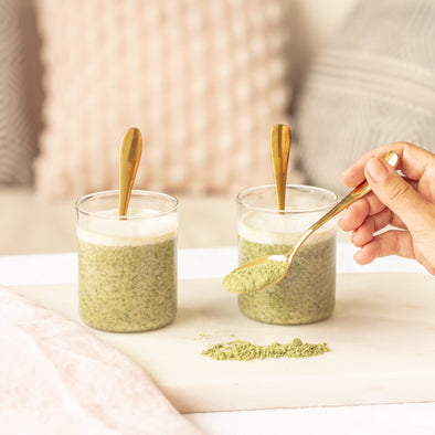 LUXEY RECIPES | Easy Overnight Chia Seeds Pudding