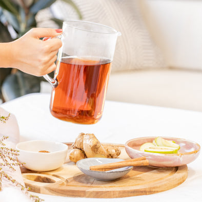 LUXEY RECIPES | Apple, Cinnamon and Ginger Tea