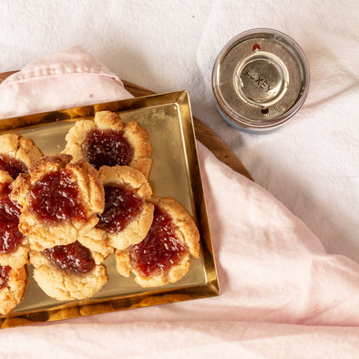 LUXEY RECIPES | Gluten Free Strawberry Jam Drops