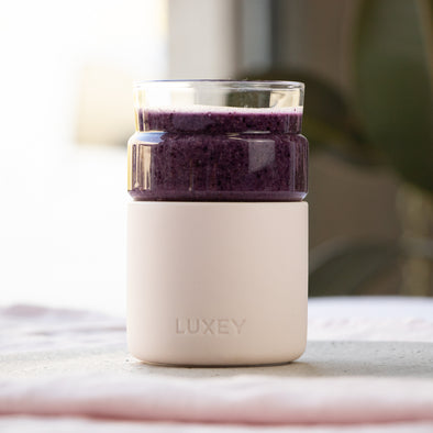 LUXEY RECIPES | Wild Blueberry and Coconut Cream Smoothie