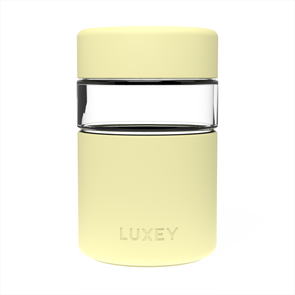 LEMON - SUMMER LIMITED EDITION ~ LittleLUX Cup ( Up to 10oz ) Reusable Glass Coffee Cup