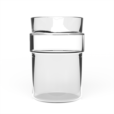 LittleLUX Cup Glass Only ( Up to 8 oz )