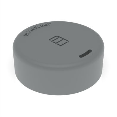 CHARCOAL GREY - Large Hot Drink Lid