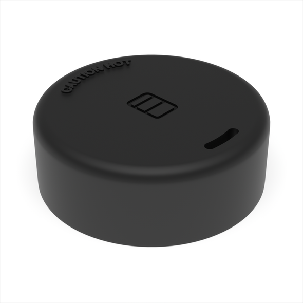 BLACK - Large Hot Drink Lid