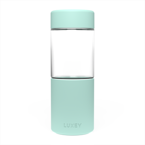 Mint Green Middle Child Luxey Cup ( 16oz ) Large Reusable Glass Coffee Cup